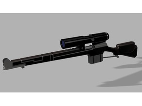 Observer's Rugged Enfield Laser Rifle