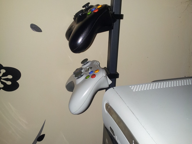 Xbox 360 Controller Wall Mount By Lassealm