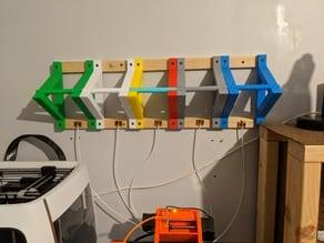 Prusa MMU2 Filament Holder