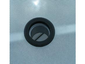 """Umbrella support for glass table 2"""" (50mm) hole"""