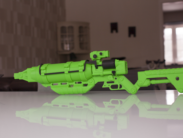 Fallout 4 Laser Rifle By Arakani Thingiverse