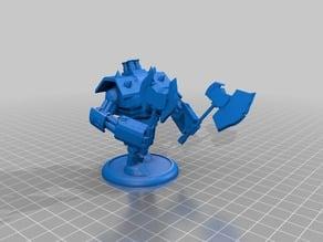 Some Robot models for Wargaming
