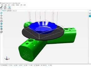 ATOM Proton/Neutron print bed for Repetier setting