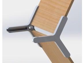 Honeycomb modular shelve
