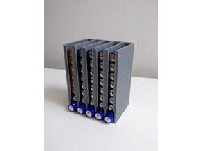Customizable battery dispenser