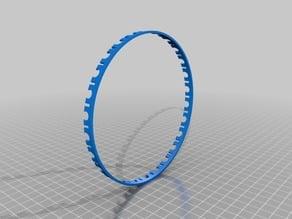 large diameter ring optical encoder