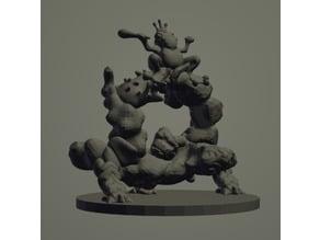 Kua-Toa God KlaPuTaka by Hyena Lobster