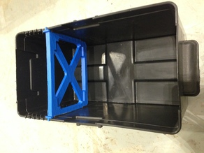 Rack for outdoor battery box Projects