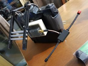 Module conversion for hitec / futaba radio