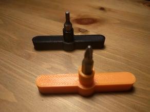 Hex tool handle