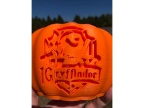 Harry Potter Hogwarts House Pumpkin
