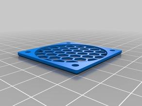 My Customized generic fan guard / filter / mesh / bee's nest