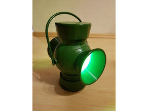 Green Lantern - luminous