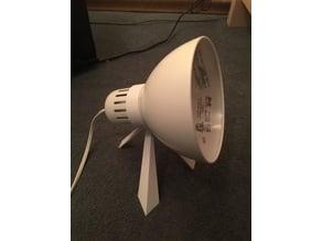 Tertial lamp mount