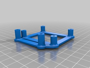 Shitty mosfet holder for Hesine M505 3D printer