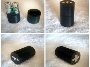"""""""AA"""" Size Battery to """"C"""" Size Battery converter"""