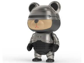 86Duino RoboCop Bear / 機器戰熊