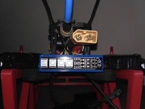 Realacc X210 Rear LED mount