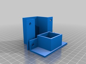 2020 extrusion mounts for power socket and power switch