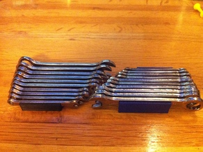 Wrench organizer