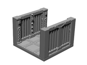 Prison Double Wall Tile (from TileScape Dungeon Expansion)
