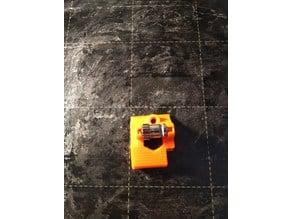 PRUSA MK3S Idler Door Remix - idle gear axle stabilizer