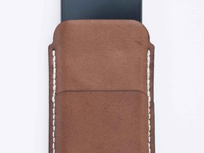 Jo's Iphone/MacBook cover (leather)