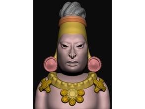 Maya Elongated Skull