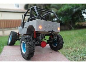 Ossum Jeep Yota Axle and 2 speed gearbox upgrade