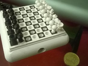(micro) Chess in a Traveling Box
