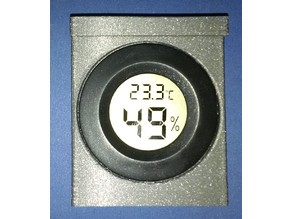 holder for hygrometer to attach to 3mm glas doors