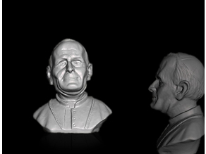 Busto Papa Giovanni Paolo I - Bust Pope - Buste Pape -  Reventar el Papa