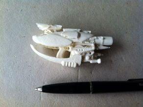 Zorg Industries, gun... one solid piece.