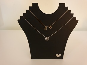Necklace display / support / holder / stand