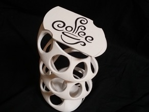The Kup Twist- Spiral K-cup holder