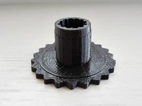 Logitech C270 focus wheel for CowTech 3D scanner
