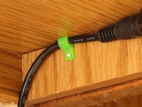 Corner Cable Clip (Parametric)