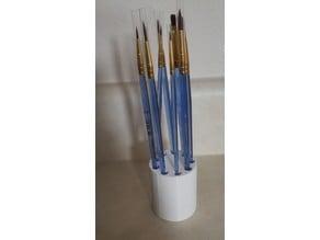 9 Paintbrush Holder