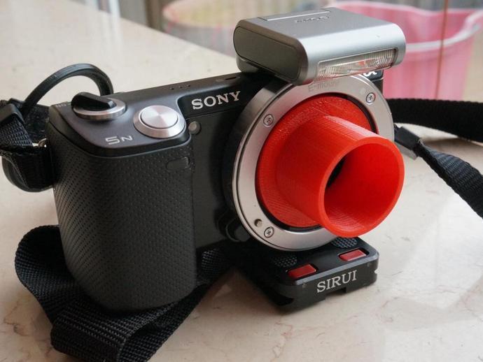 Universal mounting kamera dka camera holder scope mount ponsel