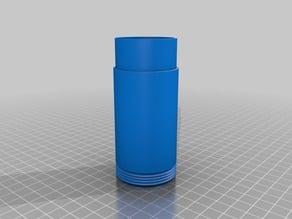 200mm 2 Piece Airsoft Suppressor