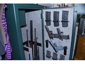 Gun Cabinet Space Savers