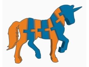 Flexi Unicorn (Dual Extrusion)
