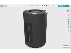 MacPi Pro Tiny v1.2 (Raspberry Pi Zero Case)
