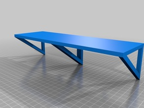 Supported Shelf 11'' x 3.5''