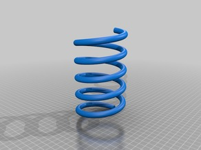 springs and springmaker - OpenSCAD library