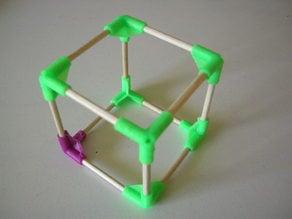 Cube vertice