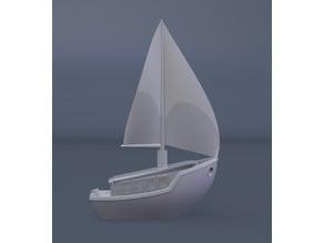 3dBenchy Sailboat