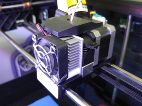 Makerbot 2 Fan / Heat Sink Spacer