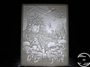 Rick And Morty Lithophane (#2)