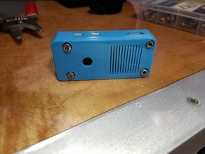 Yet Another Raspberry Pi Zero W and Camera Module Case